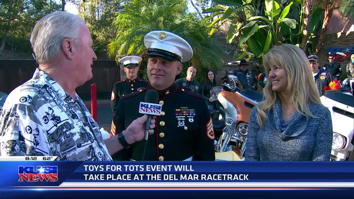On air with Dave Stall from KUSI