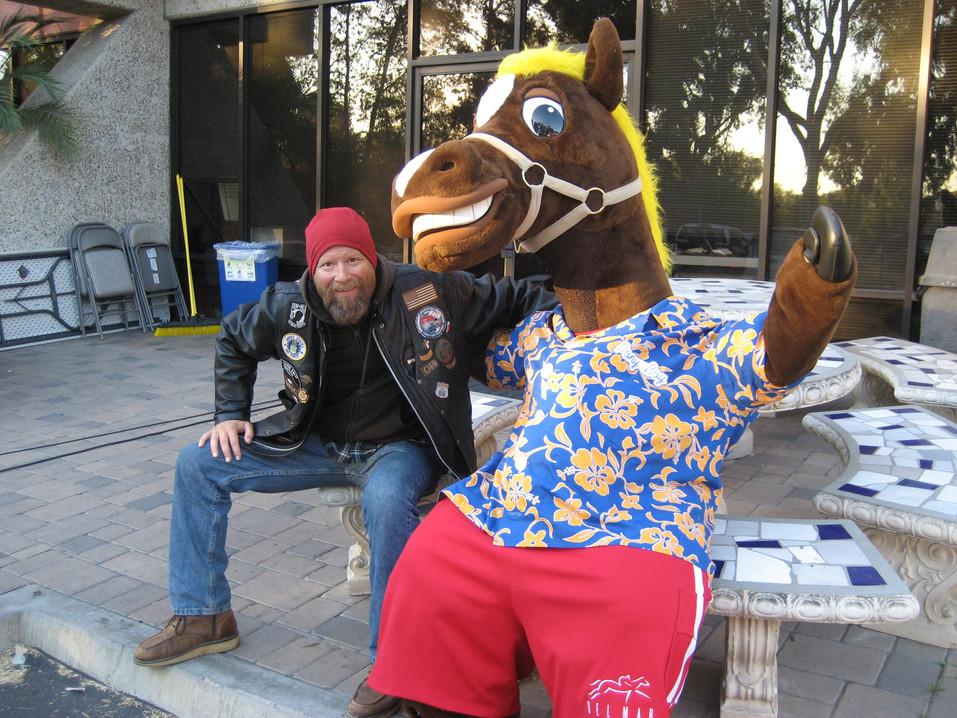 Paul and Pony Boy