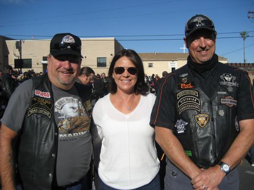 Mike Harris, Erin Dockery, and Paul Gates