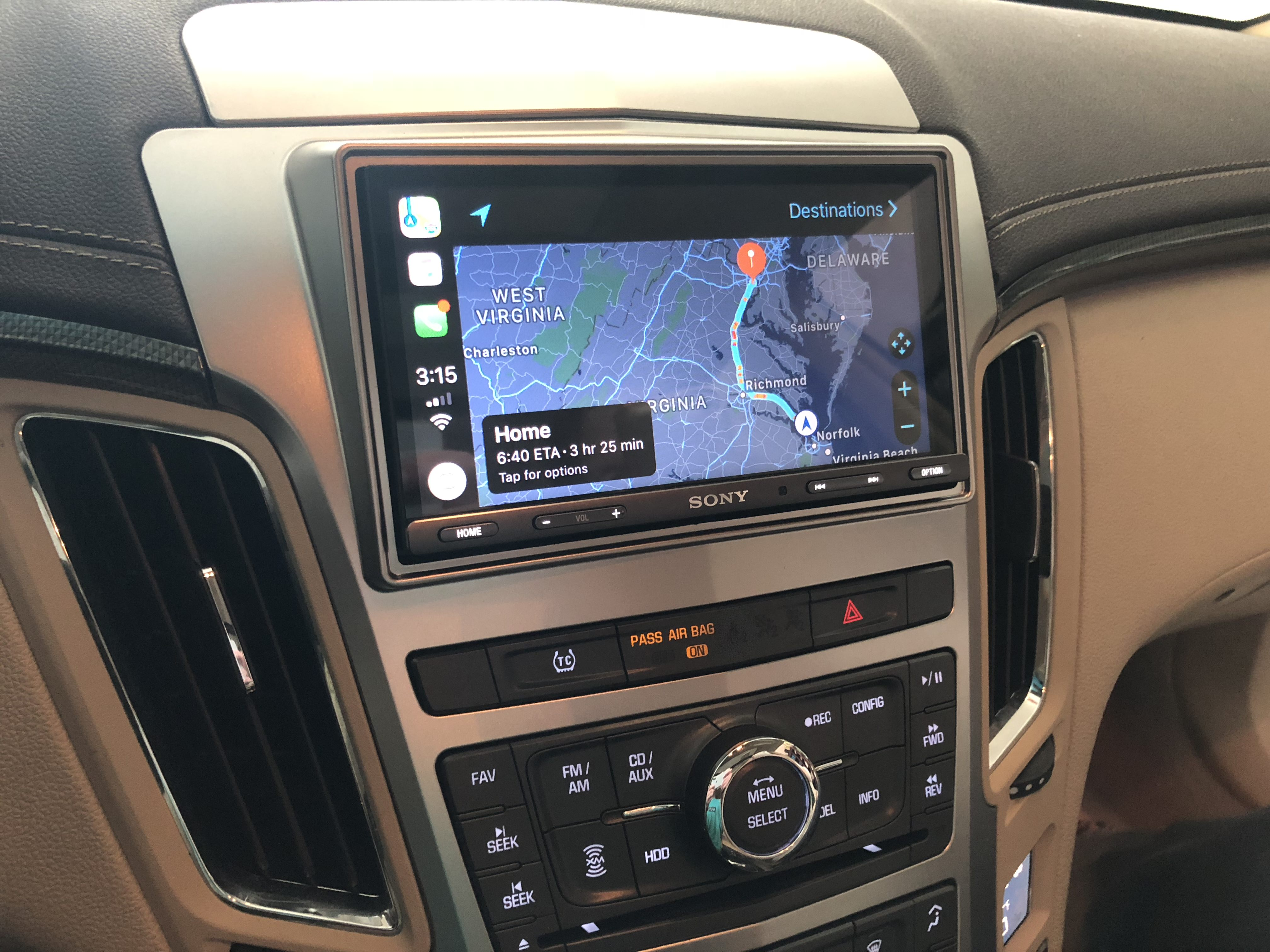 Sony Installed In CTS