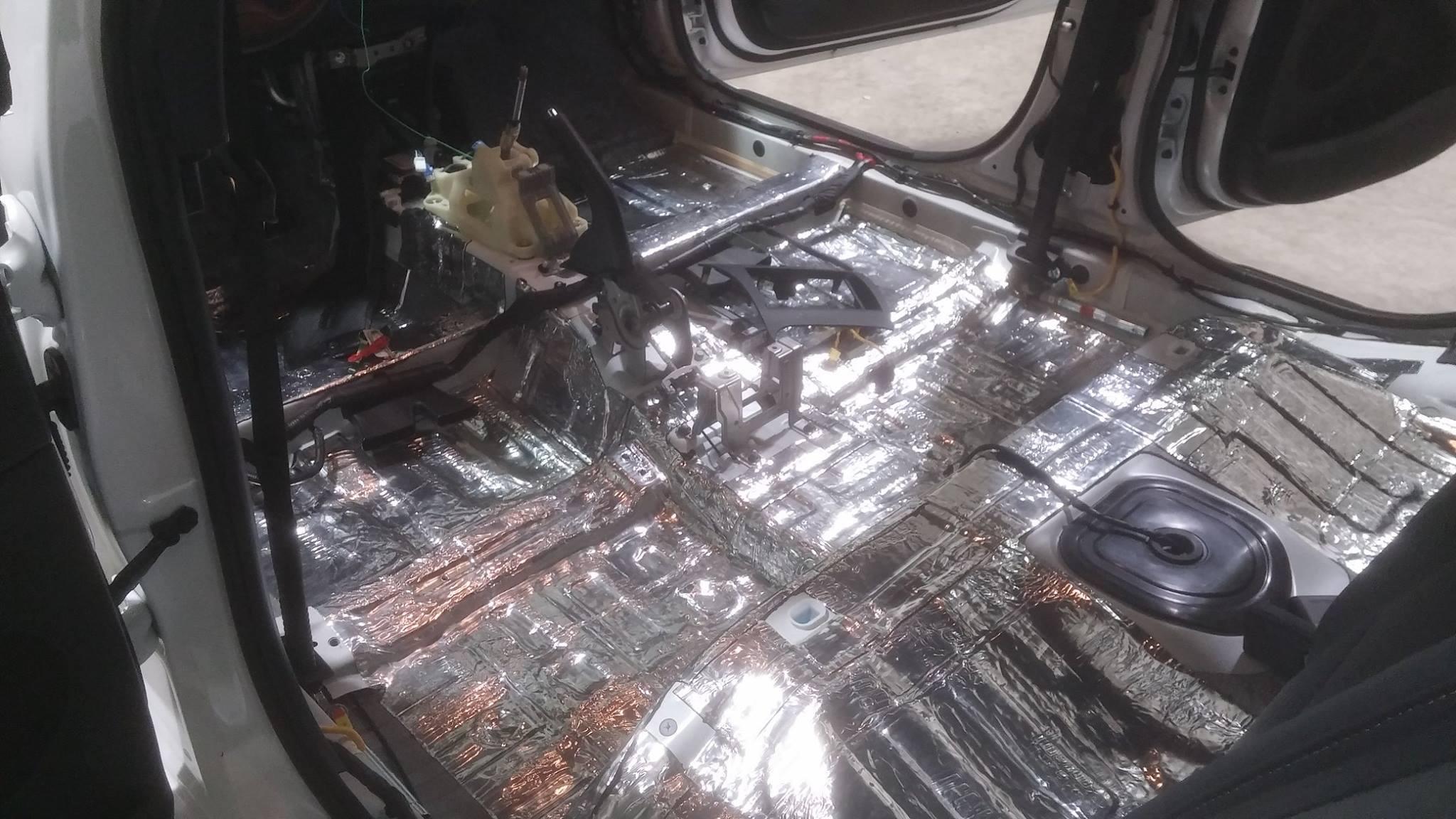 Sound Deadener Install