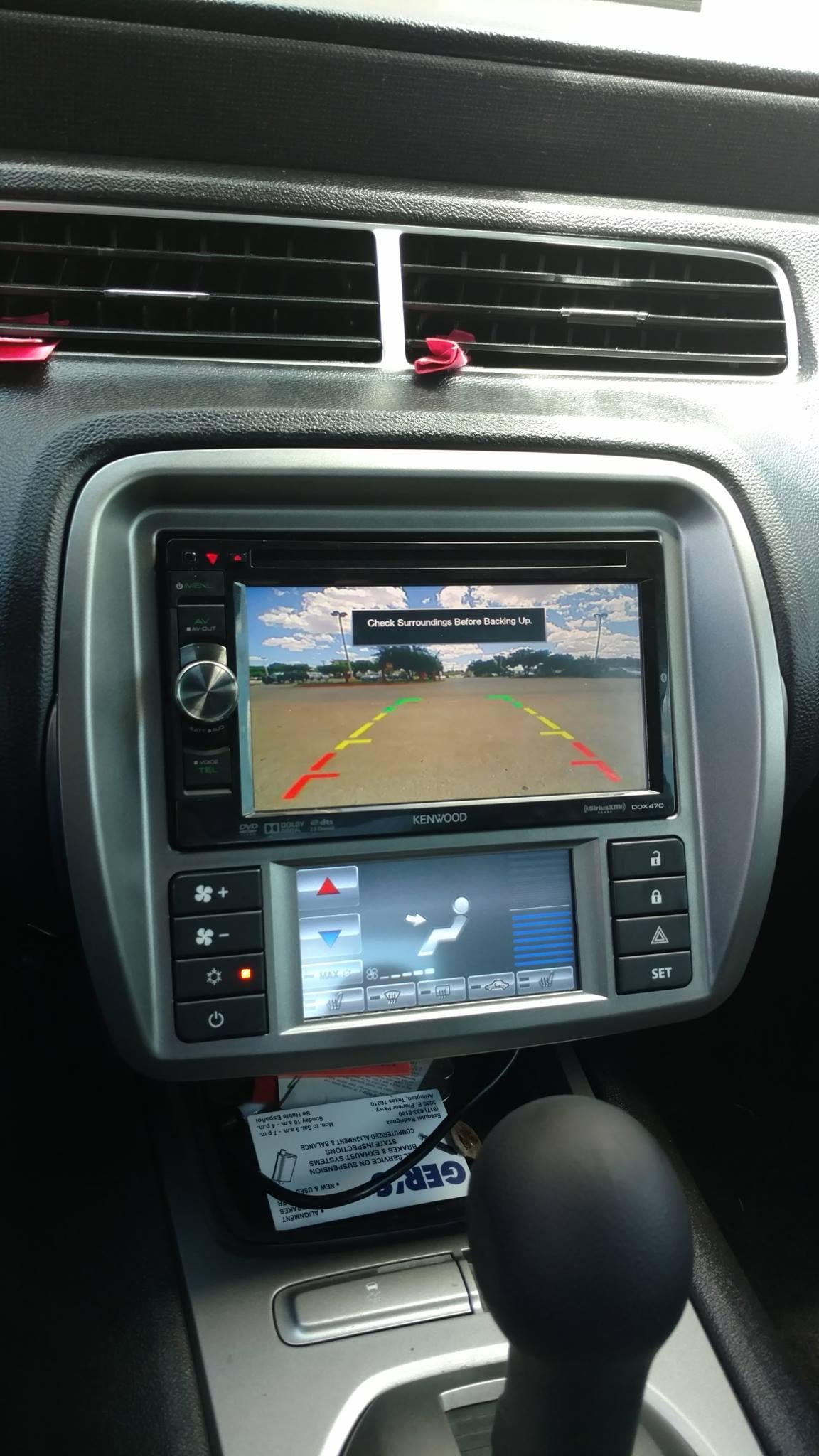 Camaro Radio Install
