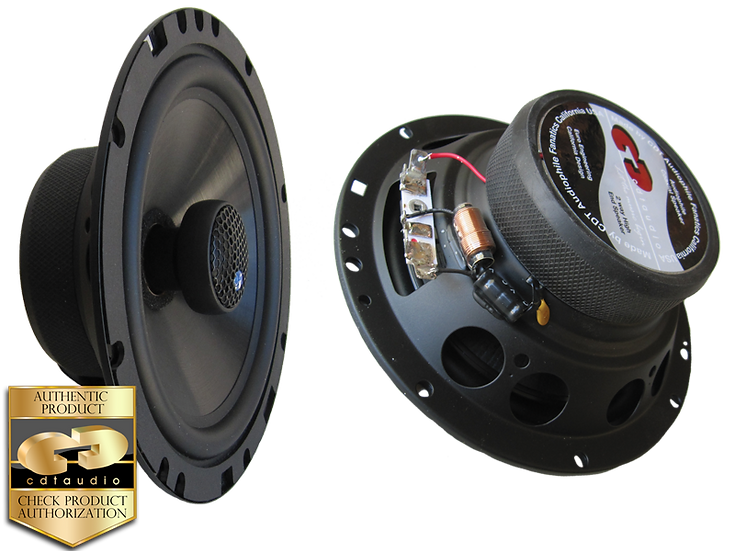 "CDT Audio HD-6EX.2 6.5"" Coaxials"
