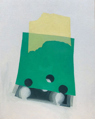 Scraps (green and yellow)