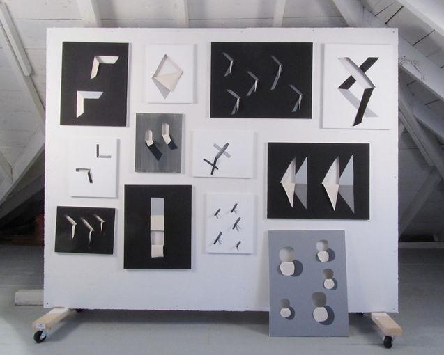 Cut Canvas Series