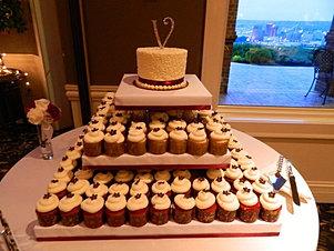 A Spoon Fulla Sugar Wedding Cakes Cincinnati Wedding Cupcakes