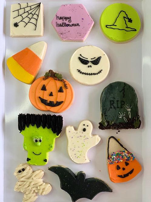 Assorted Iced Sugar Cookies