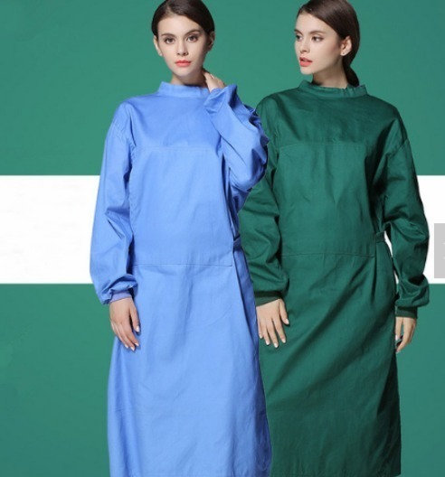 Surgical Cotton Reusable Gown