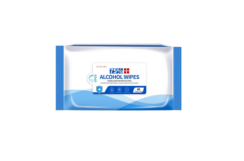 VIP Antibacterial 75% Alcohol Wipes (40 wipes/pack)