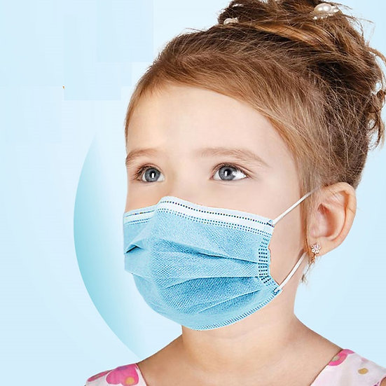Disposable Kids Face Mask (50 mask/box)