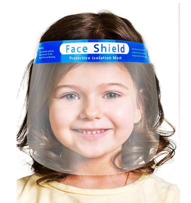 Anti-Fog Kids Face Shield