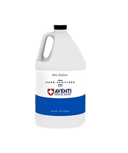 1 Gallon Rinse-Free Antibacterial Hand Sanitizer Gel (128 fl oz)
