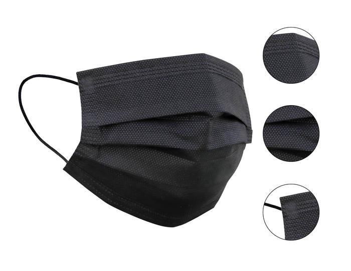 Black Disposable Face Mask (50pcs/box)