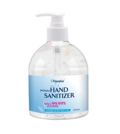 VIP Rinse-Free Antibacterial 75% Alcohol Hand Sanitizer Gel (16.9 fl oz)