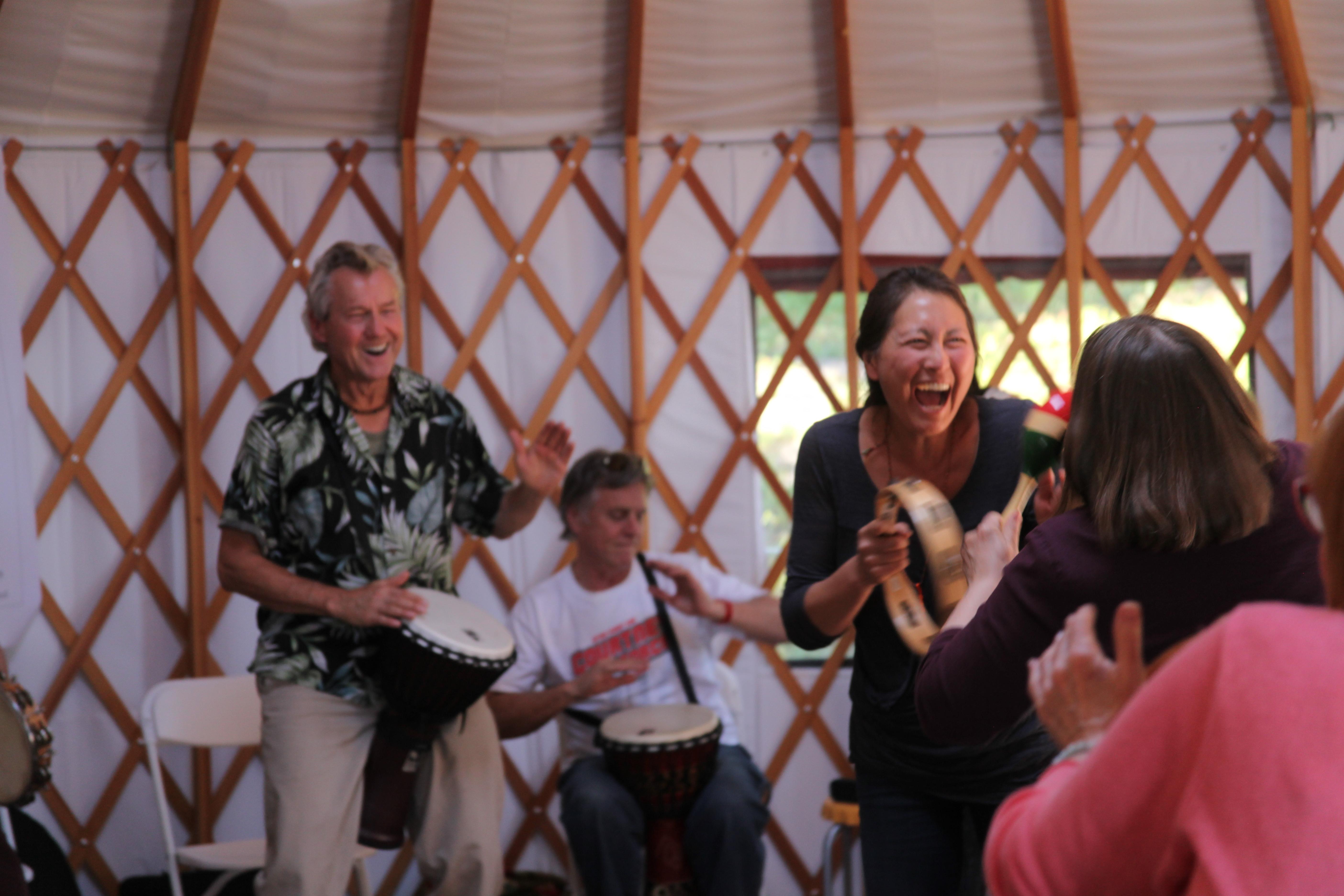 Music In the Yurt