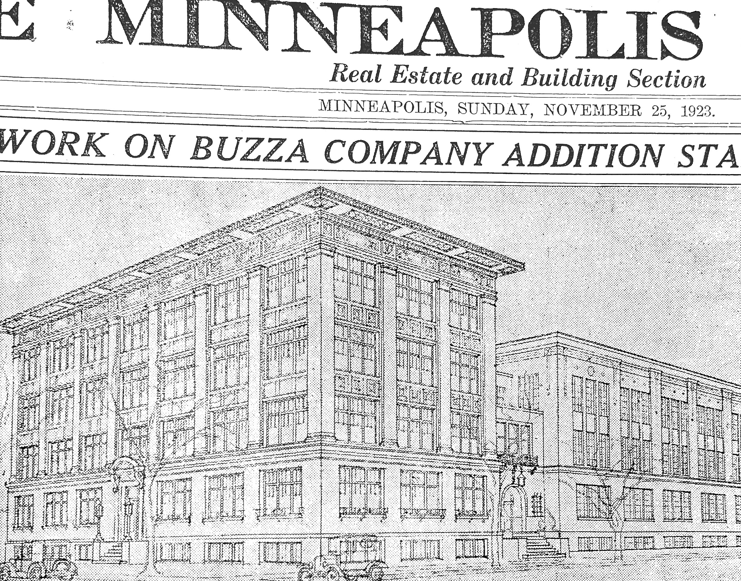 Minneapolis Tribune: Buzza Building