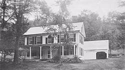 1800s New England family home
