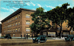 Lyndale Ave Apartments - postcard