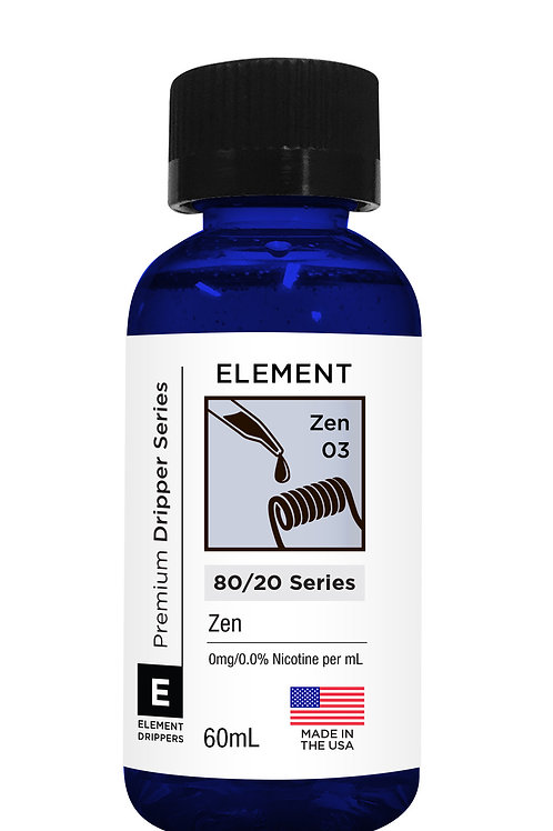 ZEN DRIPPER E-LIQUID 60ML