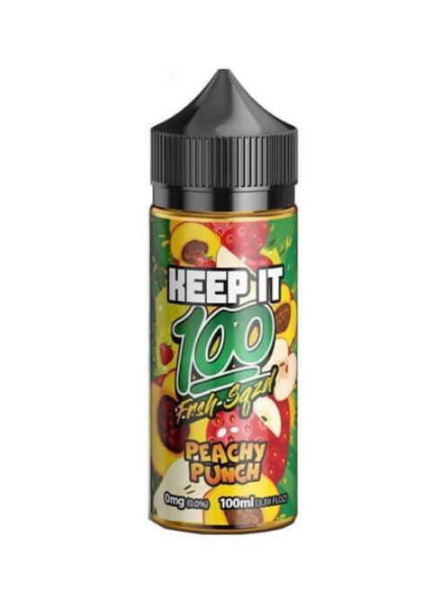 Keep It 100 – Peachy Punch (100ml)