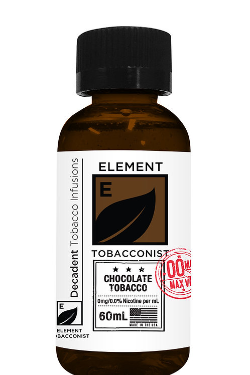 ELEMENT TOBACCONIST CHOCOLATE TOBACCO 60ML