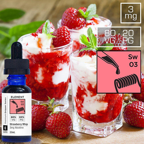 ELEMENT STRAWBERRY WHIP (60ml)