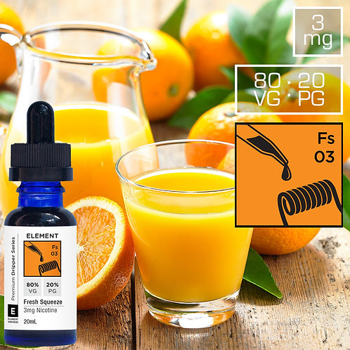 Fresh Squeezed Oranges  (60ml)