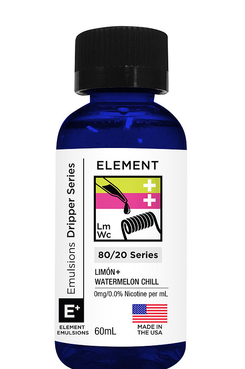 EMULSIONS LIMÓN + WATERMELON CHILL 60ML