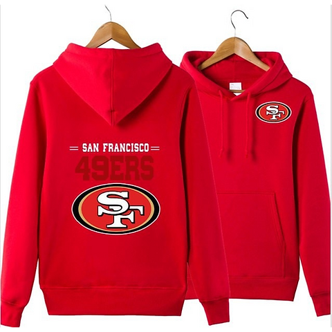 the latest 933bd 71e28 NEW Men's Winter 49ers Fans Hoodies New Design San Francisco Sweatshirts SF  Logo | Iniativesports
