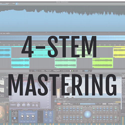 Online Mastering - 4 STEMS