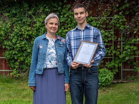 Esmakorselt Tartu Toome Stipendium