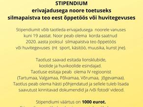 LC Tartu Toome stipendiumi 2021 taotluste voor on alanud.