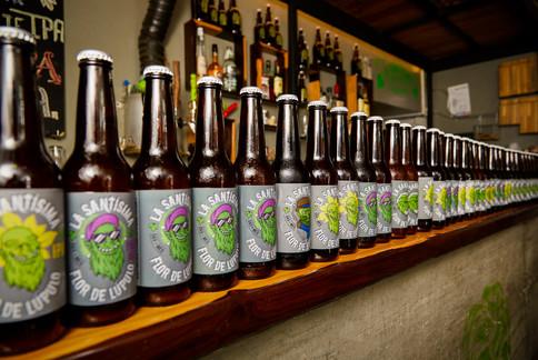 Cervezas en botella