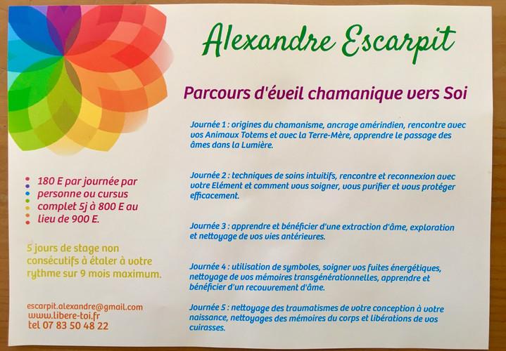 Alexandre Escarpit magnetiseur chaman nantes