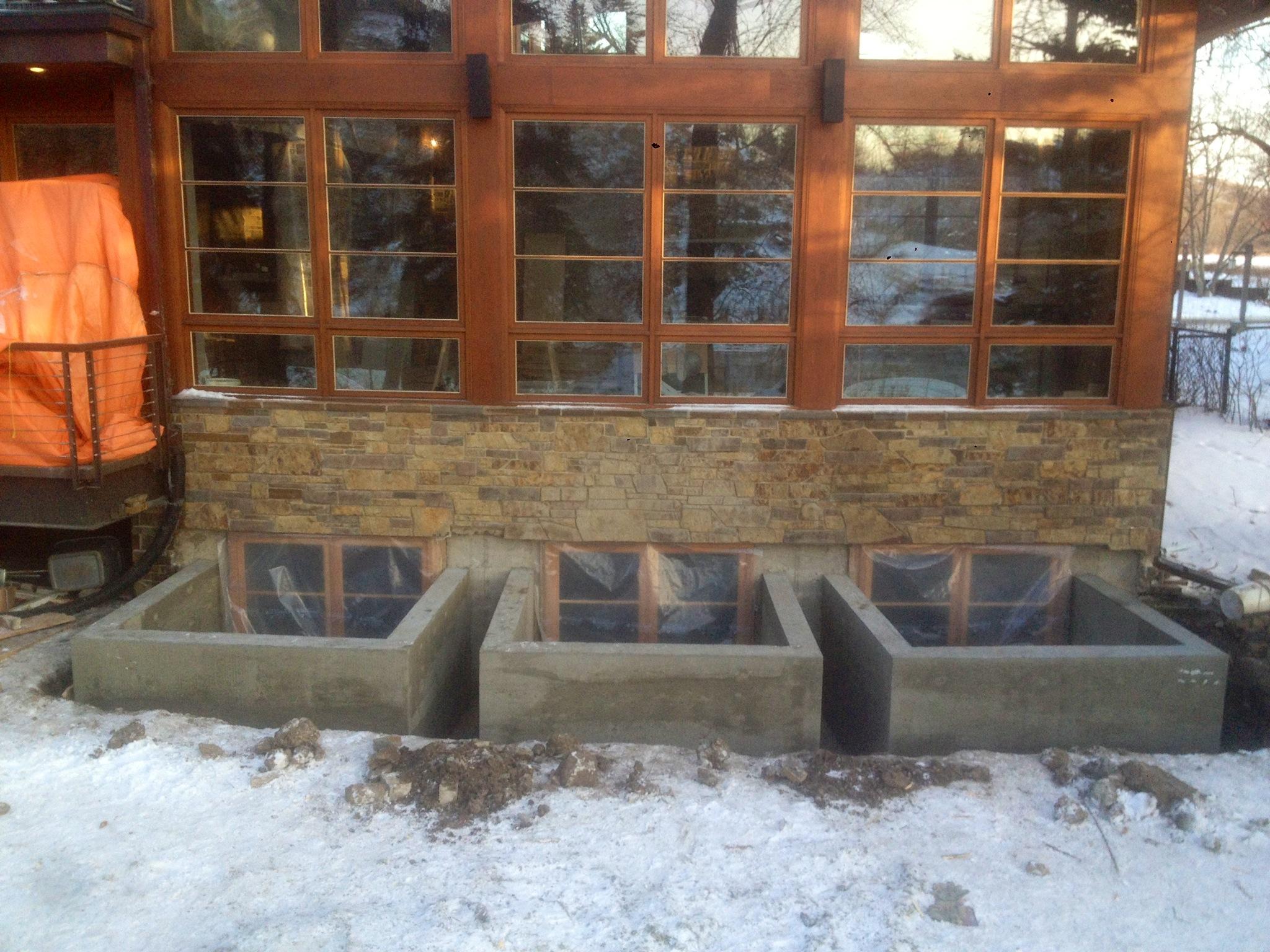 Flood Proof Window Wells