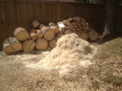 Processed spruce