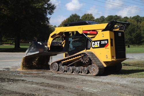 287D Recycled asphalt