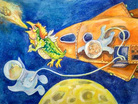 De la Lune au Triangle des Bermudes avec Rosette et ses amis