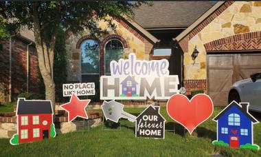 Realtor/Welcome Home Flash Set