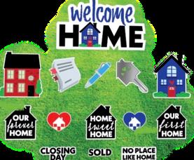 Welcome Home/Realtor Set