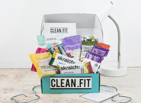May 2019 CLEAN.FIT Box