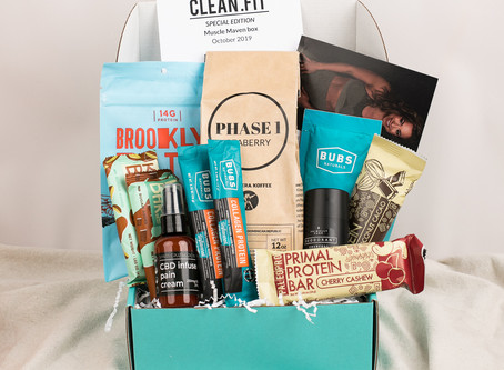 October 2019 CLEAN.FIT Box