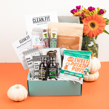 September 2019 CLEAN.FIT Box