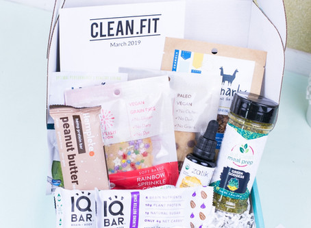 March 2019 CLEAN.FIT Box