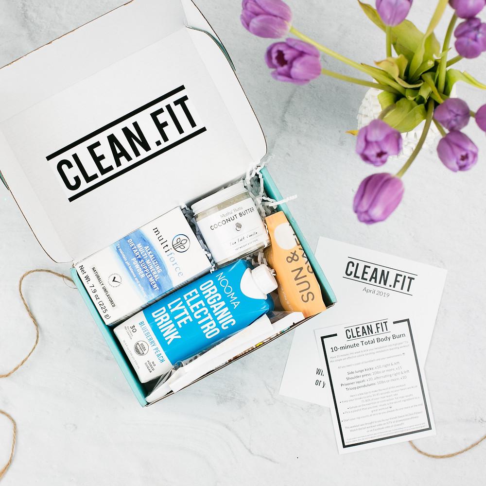 April CLEAN.FIT Box