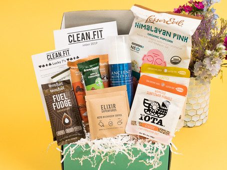 November 2019 CLEAN.FIT Box