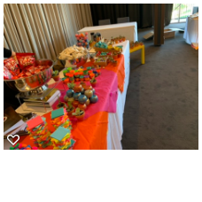 Goodies table two