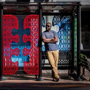 Creative Mainers are transforming humble city bus shelters into works of art
