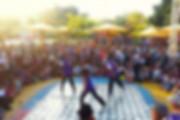מתחם ריקודי רחוב ליום העצמאות