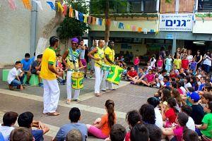 מתחם ברזילאי ליום העצמאות